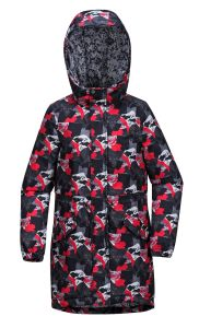 2017 Winter Kid′s Printed Parka pictures & photos