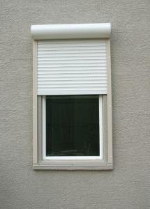 Aluminum Roller Shutter Window and Roller Shutter Door pictures & photos