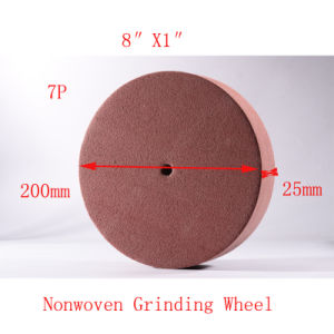 "8""X1"" 7p Polishing Pads 200mm Nylon Disc Brush Surface Conditioning Wheels pictures & photos"