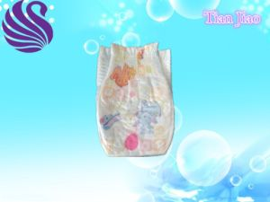 Soft Breathable Disposable Baby Diaper Exporter with High Absorption pictures & photos