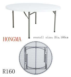 160cm Round Table R160 Plastic Round Table Banquet Table pictures & photos