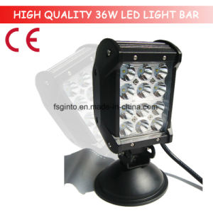 36W Quad CREE Row LED Light Bar for Truck, Trailer (GT3401-36W) pictures & photos