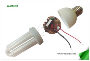 3u Good Quality CFL Energy Saving Lamp Bulb Glass Tube pictures & photos