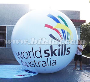 Custom Made 3m Diameter Inflatable PVC Helium Ballloon K7045 pictures & photos