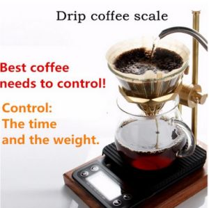 Hostweigh Portable Digital Kitchen Coffee Scale 0.1g pictures & photos