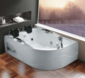 Massage Bathtub for Two Persons-19 Years of OEM/ODM Experience pictures & photos