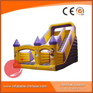 Joy Inflatable Micky Theme Slide T4-301 pictures & photos