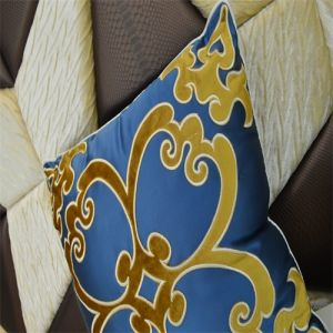 Luxury Cutting Velvets Embroidery Pillow pictures & photos