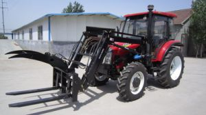 35HP-75HP Agriculture Use Wheel Farm Tractor with Loader pictures & photos