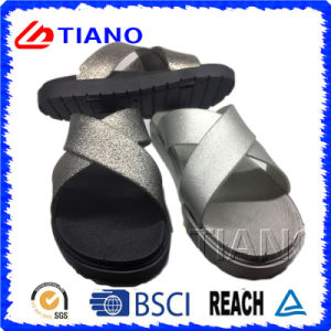 Fashion Design with Metalescent Distibutor EVA Sandal (TNK35707) pictures & photos