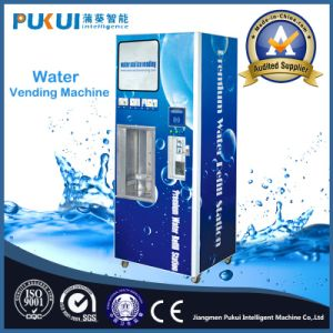 China Manufacturer Outdoor Bottled Water Vending Machine pictures & photos