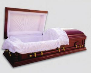 High Quality Wooden Caskets and Coffins (JW-14) pictures & photos