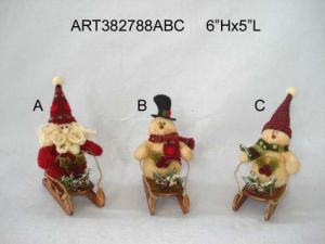 Santa Christmas Stockings, 3asst-Christmas Decoration pictures & photos