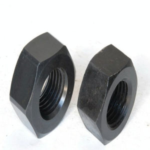 Heavy Hex Nuts A563-10 Black