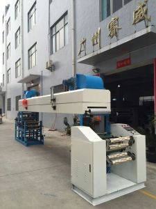 Hot Air Circulation Heating Adhesive Tape Coating Machine pictures & photos