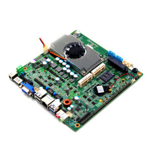 Desktop Fanless Mini-Itx Motherboards with N2900/N2806 6.5W Processor /1 LAN /6 COM/Touch Module pictures & photos