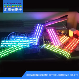 5050 DC12V 0.72W IP65 Seven-Color RGB LED Module pictures & photos
