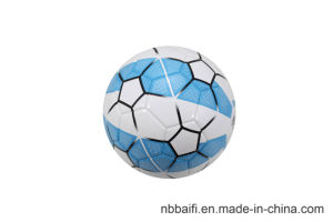 Customized Prining Size 5 Promotion Handsewn PVC Soccerball pictures & photos