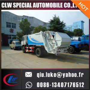 Dongfeng Waste Garbege Bin Garbage Compactor Truck pictures & photos