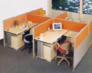 Modern Workstation L Shape Office Staff Computer Desk pictures & photos