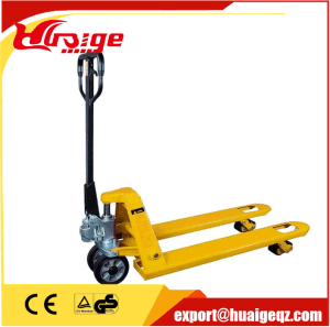 Widely Used Manual Pallet Stacker Jack Truck pictures & photos