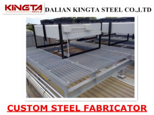 Steel Structure Platform Walkway with Steel Grating