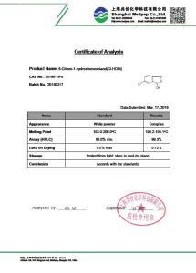 6-Chloro-1-Hydroxibenzotriazol (Cl-HOBt) [26198-19-6] pictures & photos