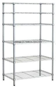 Hot Sale Metal Chrome Wire Flowers Shelf to Turkey pictures & photos