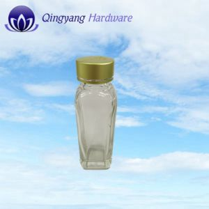 22mm Glass Bottle Jar with Aluminum Caps for Medicine pictures & photos