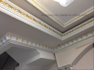 Beautiful Design for Ceiling Cornice Moulding/PU Corncie Mouling pictures & photos