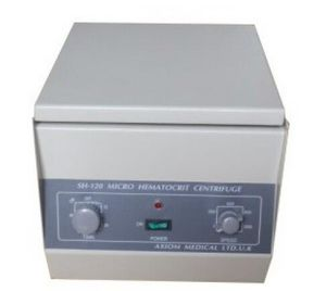 High Speed Micro Centrifuges for Blood Hematocrit Analysis Sh-120b pictures & photos