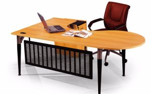 Modern MFC Laminated MDF Wooden Office Table (NS-NW197) pictures & photos