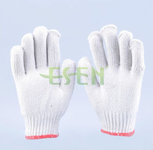 2017 Hot Selling Industrial Poly Cotton Gloves Knitting Gloves Made pictures & photos