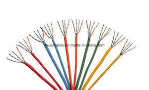 4 Twisted Pairs Ethernet Cable LAN Cable CAT6 with Fluke Pass pictures & photos
