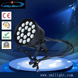 Stage Professional Light 4in1 18PCS DMX LED RGBW 10W LED PAR 64 Light pictures & photos