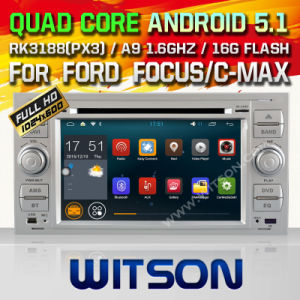 Witson Android 5.1 Car DVD for Ford Focus (2005-2007) (W2-F9488FS) pictures & photos