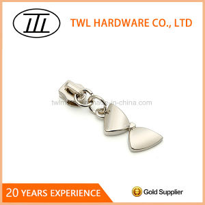 Luxury Bowknot Zipper Puller Repair Metal Replacement Slider Pulls Zip Puller pictures & photos