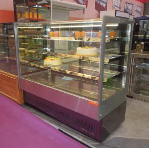 Commercial Display Cake Refrigerator Showcase with Ce pictures & photos