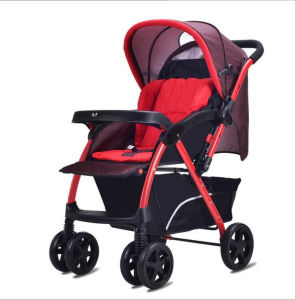 High Quality Fashion Baby Stroller with Mummy Bag pictures & photos