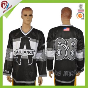 Cheap Blank Wholesale Customized Sublimated Team European Hockey Jersey pictures & photos