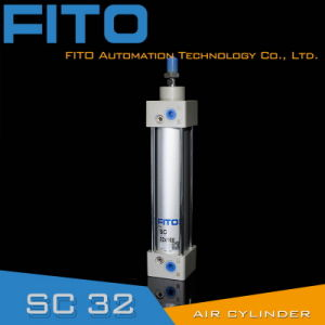 10 Years Factory Sc32 Series Standard Air Pneumatic Cylinder ISO6430 Airtac pictures & photos