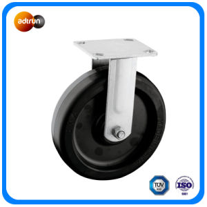 "Heavy Duty 8"" Rubber Caster Wheels pictures & photos"