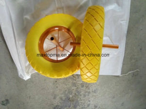 China Maxtop PU Foam Rubber Wheelbarrow Wheel pictures & photos