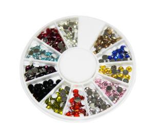 Nail Art Rhinestones Glitter Decoration Tips Diamond Gem Wheel pictures & photos