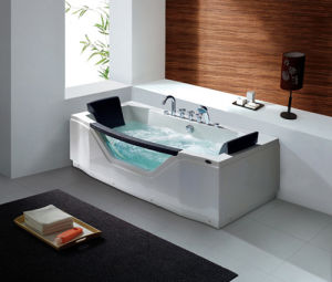 Deluxe Freestanding Computer Control Whirlpool/Massage/SPA Acrylic Bathtub pictures & photos