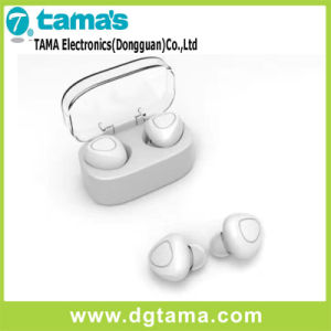 Dual Track Wireless Bluetooth in-Ear Earphone with Three Colors Option