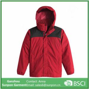 Boys′s Rain Jacket Resolve Reflective Jacket pictures & photos