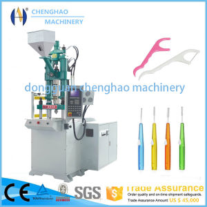 55t Plastic Injection Single Slide Molding Machine for Making Dental Floss