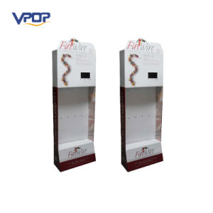 Hanging Cardboard Product Stand PDQ Stand with Hooks