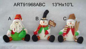 Christmas Decoration Santa Snowman Moose Stocking pictures & photos
